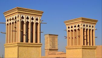 Windcatchers of Yazd
